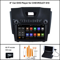 Android 7.1 Quad Core CAR DVD Player for CHEVROLET S10 COLORADO Trailblazer LT LTZ 2013 1024X600 HD WIFI+DSP+RDS+16GB flash