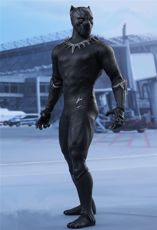 Hot Toy Marvel Original 1 6 Avengers Infinity War Super Hero Black Panther BJD Action Figure