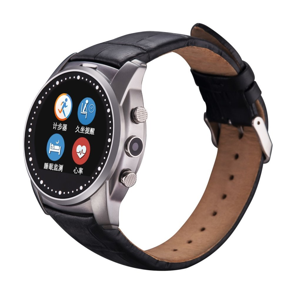 ФОТО Waterproof Health Smart Watch SmartWatch Supot SIM TF Card Heart Rate Pedometer Sport Watch for Samsung Galaxy S7 SM-G930A G9300