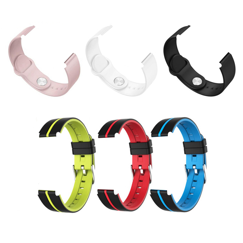 B57 Smart Watch Strap Original Silicone Color Strap Silicone Sports Watch Band Bracelet Replacement B57 Wristband Smartwatch