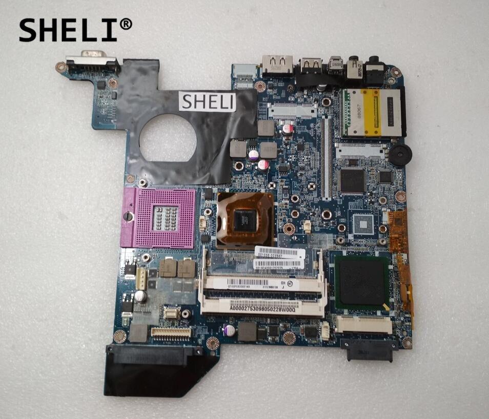 SHELI For Toshiba M300 M305 Motherboard GM45 A000027530SHELI For Toshiba M300 M305 Motherboard GM45 A000027530