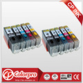 10PK (2BK/2PBK/2C/2M/2Y) PGI-550 CLI-551 Edible ink cartridge for Canon printer PIXMA MG5450/MG6350/IP7250/MX925