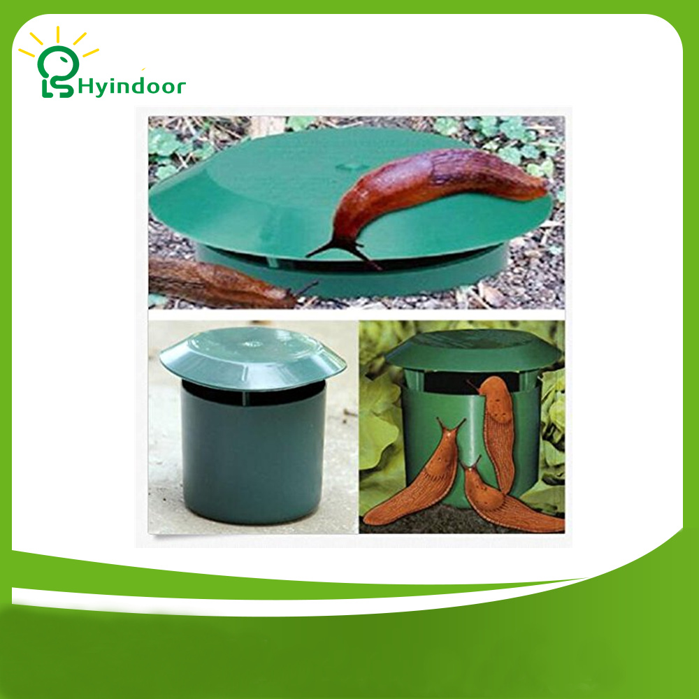 Pest Control Eco-friendly Snail Cage 5 pieces a Pack Animal Snails Catching Trapper Slug House Catcher Trap Garden Supplies 翻轉 貓 砂 盆