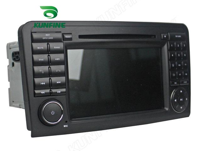 Quad Core 1024*600 Android 5.1 Del Coche DVD GPS Jugador de la Navegación Estéreo del coche para el BENZ ML CLASE W164 de Radio 3G Wifi Bluetooth