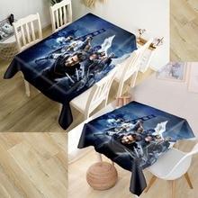 Customizable 3D Tablecloth X-Men Waterproof Thicken Rectangular Square Wedding Table Cloth 90X90cm,100X140cm