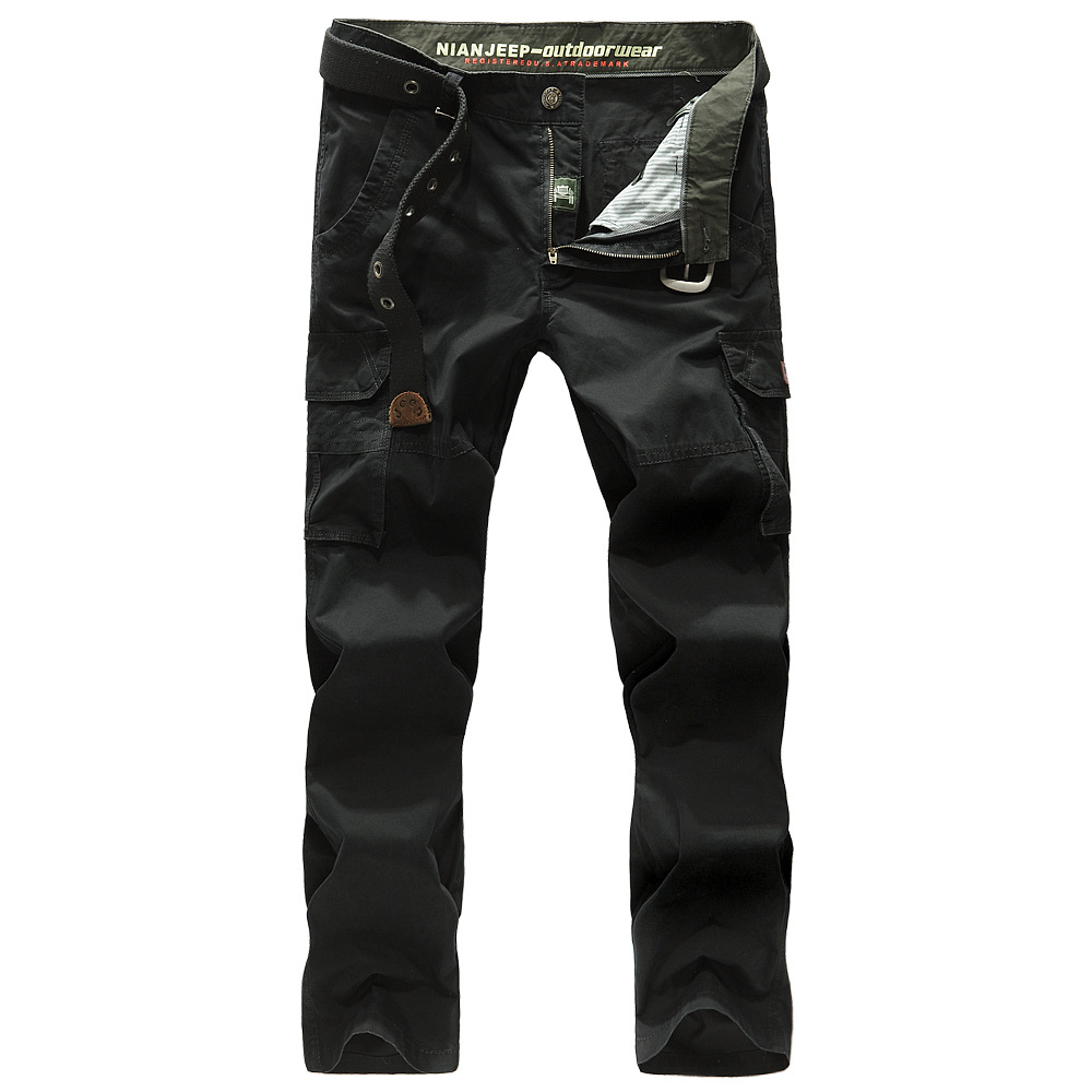NIAN JEEP Brand Clothing Men s Casual Cargo Trousers Full Length Cotton Pants  Plus Size 30 44 79-in Casual Pants from Men s Clothing on Aliexpress.com ... d9d88f8ac2f0