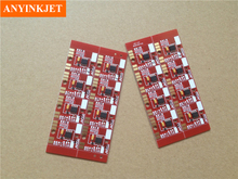 Best stable high quality Mimaki UJF-6042 chip mimaki UJF 6042 permanent (1set 6color)