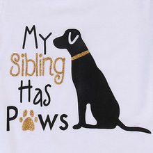 My Sibling Has Paw Onesie