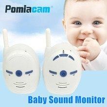 2,4 ГГц беспроводной детский монитор V20 Портативный Аудио рация комплекты детский телефон сигнализация дети радио домофоны няня Няня няня