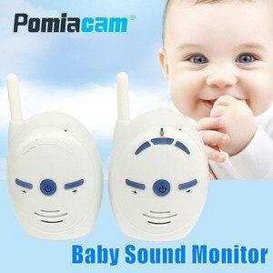 Image 1 - جهاز مراقبة لاسلكية للأطفال الرضع بقدرة 2.4 جيجاهرتز جهاز V20 محمول لصوت الطفل جهاز إنذار للهاتف جهاز إرسال واستقبال مربية للأطفال