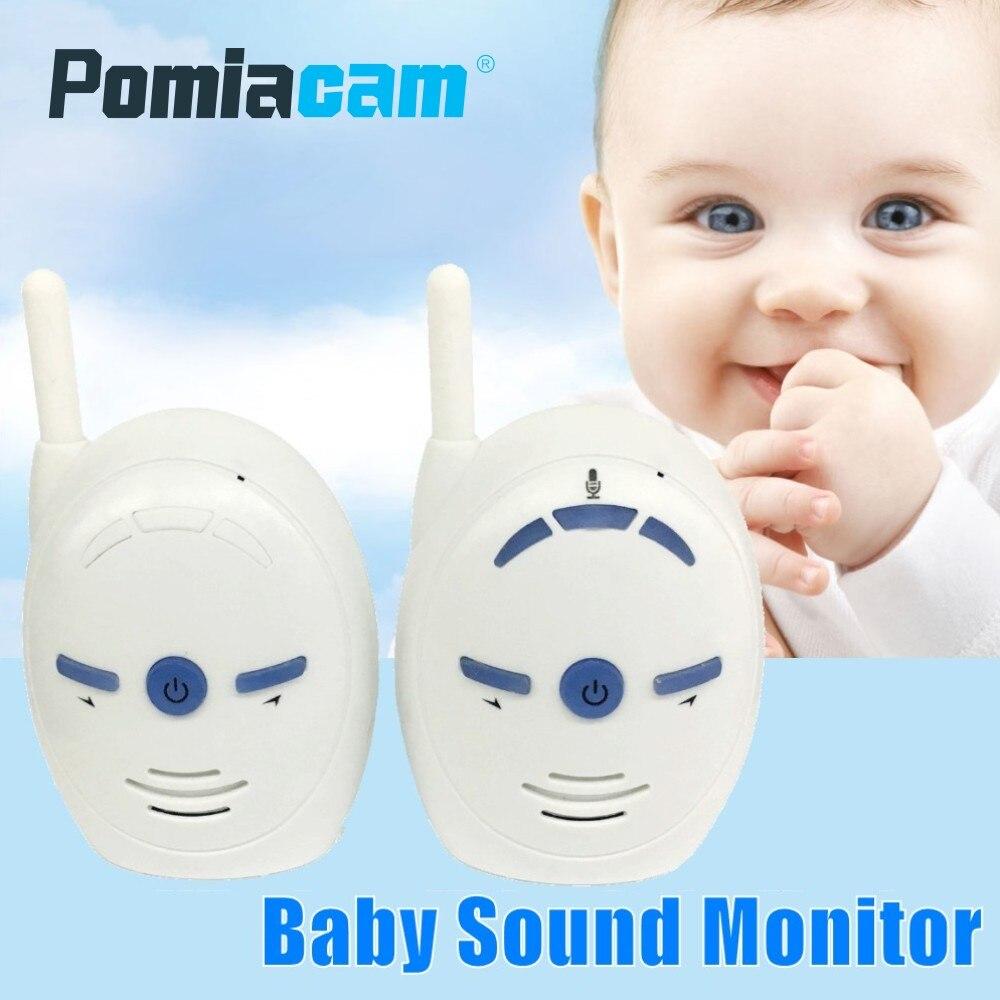 2.4GHz Wireless Infant Baby Monitor V20 Portable Audio Walkie Talkie Kits Baby Phone Alarm Kids Radio Intercoms Nanny Babysitter
