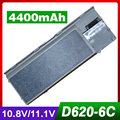 4400 mah batería del ordenador portátil para dell latitude d620 d630 d631 d830 precision m2300 310-9080, 312-0383, 312-0386, 312-0653, 451-10298