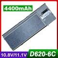 4400 mah bateria do portátil para dell latitude d620 d630 d631 d830 precision m2300 310-9080, 312-0383, 312-0386, 312-0653, 451-10298
