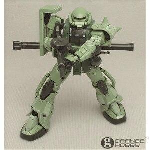 Image 4 - OHS Bandai RG 04 1/144 MS 06F Zaku II Mobile Suit Model Assemblage Kits oh