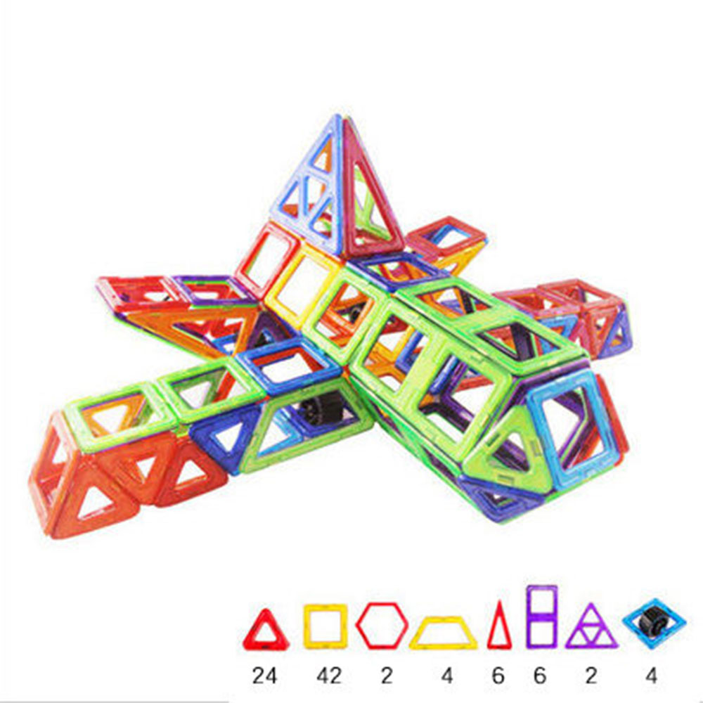 Airbus Shape Magnetic Designer Building Blocks Model & Building Toys Brick Enlighten Bricks Magnetic Toys for Children small car shape magnetic designer building blocks model