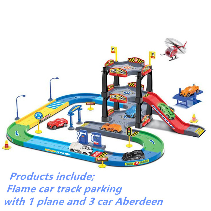 real kids shades детские blaze 7 Monster Machines Super Stunts Blaze Vehicles Parking Lot Toy Model Original Box For Anime Action Figure kids Christmas gifts