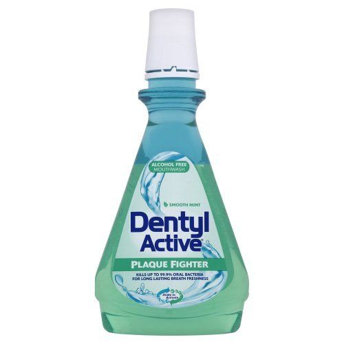 DENTYL ACTIVE ALCOHOL FREE MOUTHWASH - 500ML