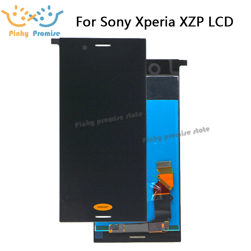 AAA LCD Display Touch Screen Digitizer Assembly For Sony Xperia XZ Premium LCD With Frame Replacement