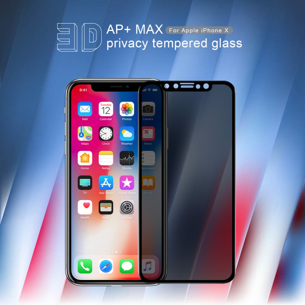 Original NILLKIN Front Premium Tempered Glass For iPhone X