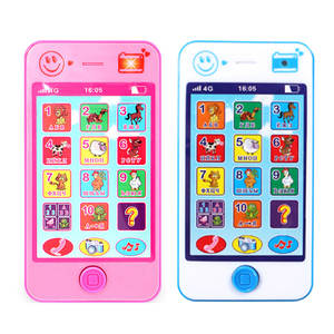 Phone Toys Simulation Music Educational Kids Children's Gift for Baby Russian Language