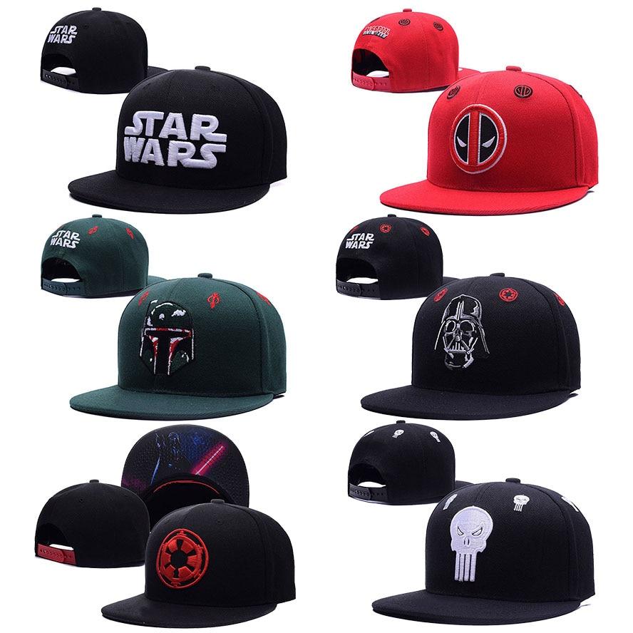 3c552181e09 ... norway super cool star wars deadpool snapback hats 5ca8d fdc9e germany  image is loading star wars adjustable hat ...