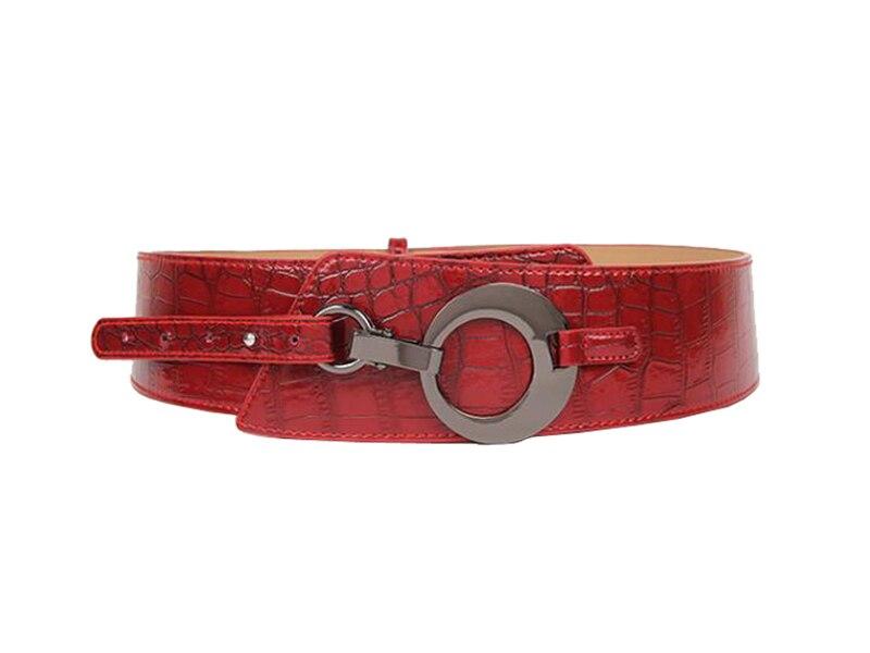 5PCS/LOT SINGYOU Belt for Women High Quality Genuine Leather Belt Vintage Female Dress Decoration Cummerbund All-match Belt 2