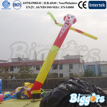 8M Height Single Leg Gonflables Sky Inflatable Advertising Dancer