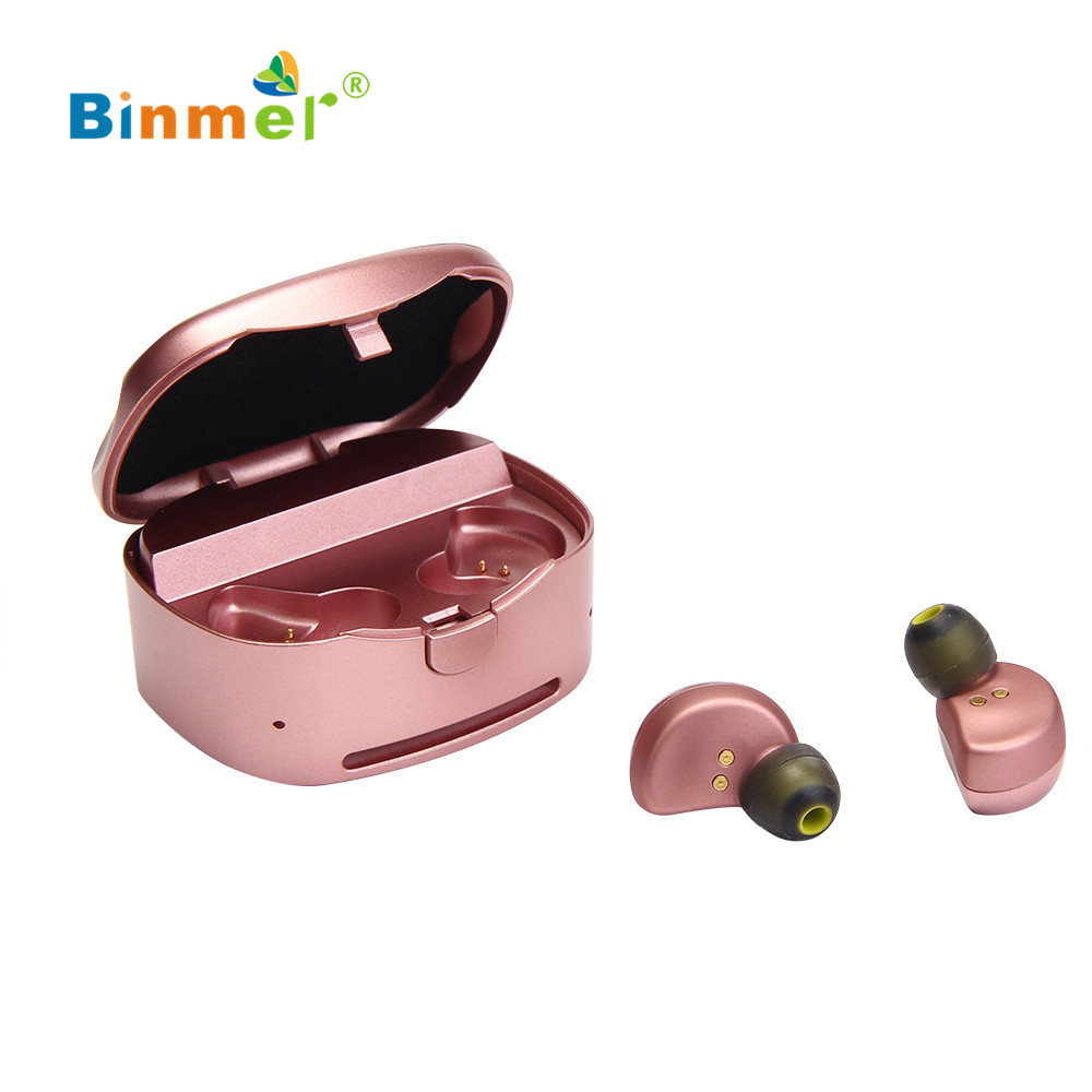4 colors Bluetooth headphones Earphones Wireless Sport Earbuds Twins Stereo In-ear Headsets With Charging Dock For iPhone7 mar2 carkit mini wireless bluetooth 2 in 1 in ear earphones car phone charger usb dock stereo headphones for dacom iphone 7 airpods