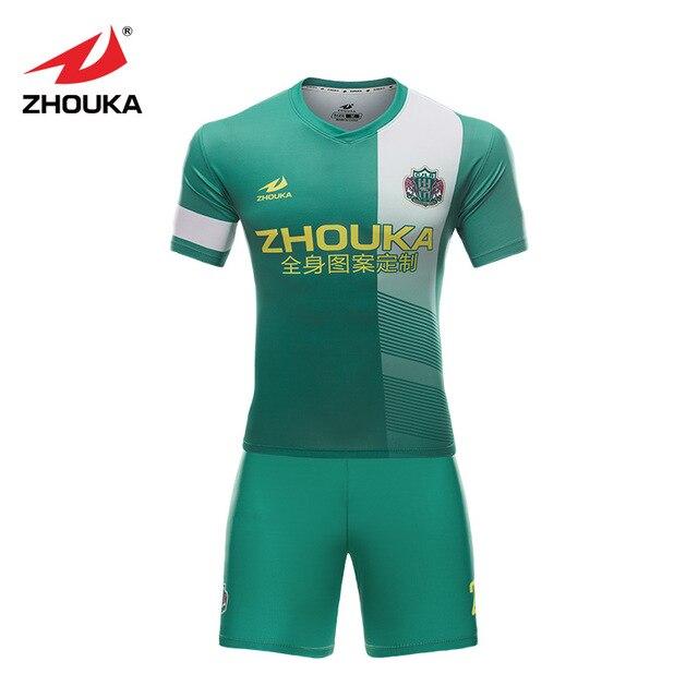 5cf7d284e Custom latest football jersey designs Sublimation soccer shirt football  shirt maker soccer jersey for adult or kids