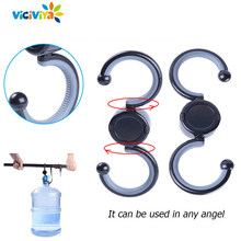 New Baby Stroller Hooks for Stroller Baby Cart Hook for Storage Hand Bag Hanger for Baby Pushchair Accessory for yoya(China)