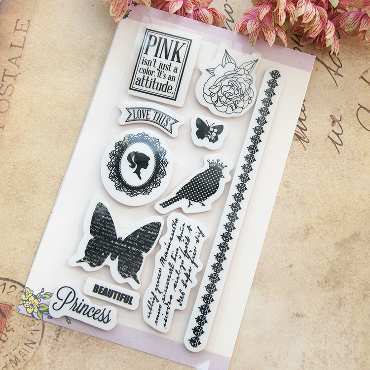 Ncraft rubber stamps n6022 scrapbook paper craft rubber for Custom craft rubber stamps