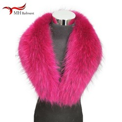 Fur scarf women's jacket jacket shawl fashion warm scarf best selling winter new real raccoon fur collar large size scarf