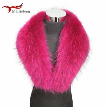 Fur scarf women's jacket jacket shawl fashion warm scarf best selling winter new real raccoon fur collar large size scarf - DISCOUNT ITEM  50% OFF All Category