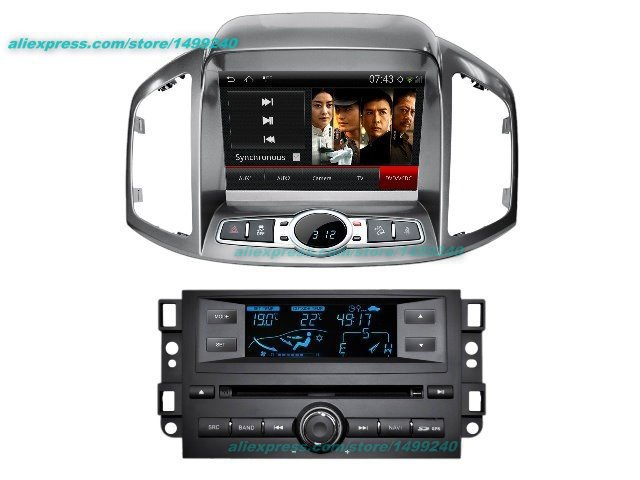 For Chevrolet Captiva 2013~2014 Car Android GPS Navigation Radio TV DVD Player Audio Video Stereo Multimedia System