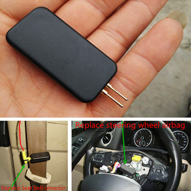 US $3 56 19% OFF Airbag Replacement Device Air Bag Simulator Emulator  Bypass Garage SRS Quickly Detect Faults Tool-in Ignition Testers from