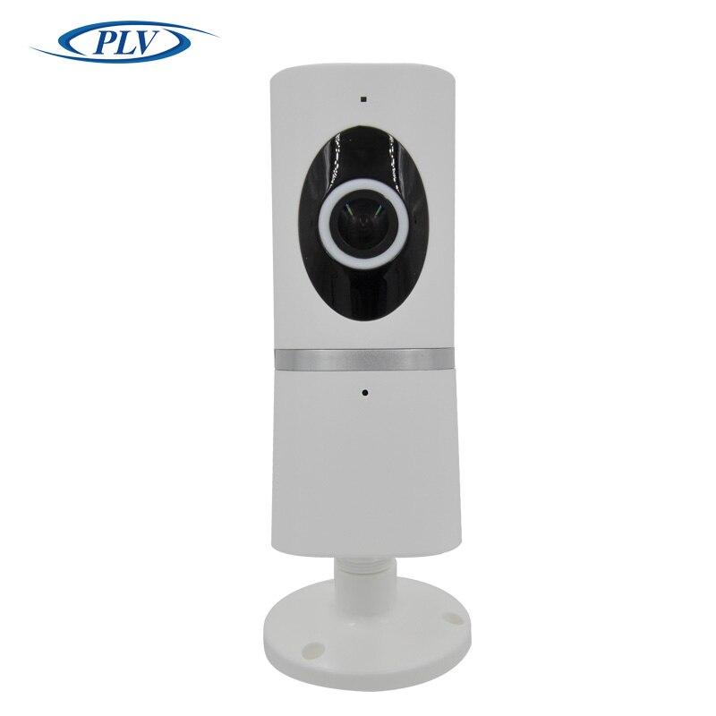 imágenes para PLV 180 Grados Cámara IP Inalámbrica WiFi 720 P HD 1.44mm ojo de pez Lente de Micro SD Tarjeta de Red de Audio de Vigilancia de Visión Nocturna Cam