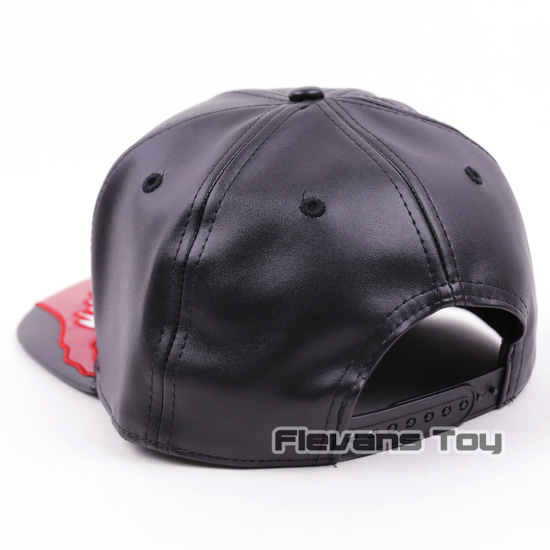 Marvel Spiderman Venom Snapback Caps Cool Fashion Hip Hop Hat Adult Faux  Leather Baseball Cap For Men-in Baseball Caps from Apparel Accessories on  ... e6420e885252
