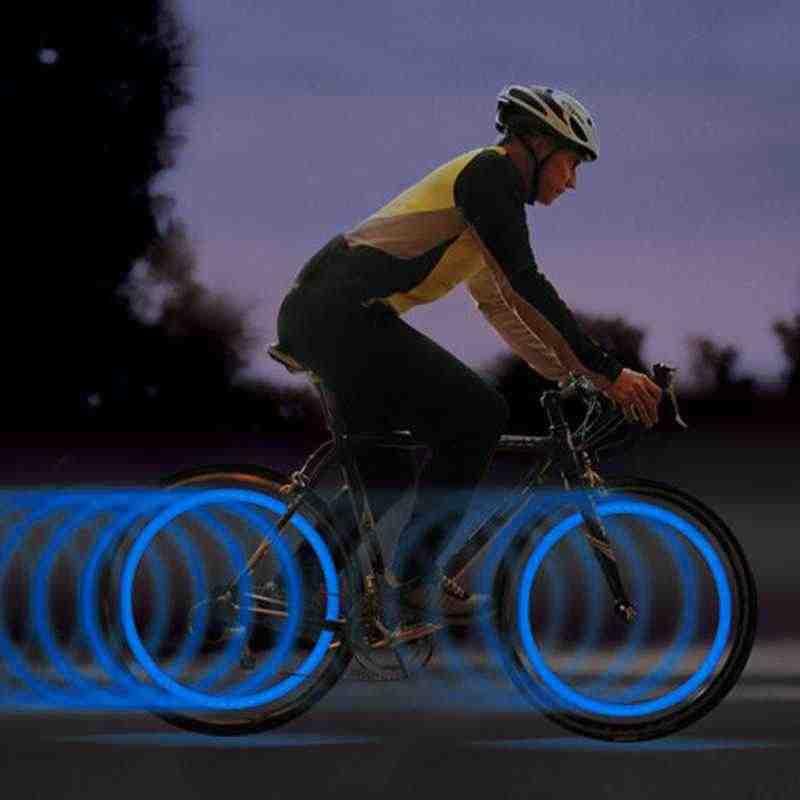 Offre spéciale vélo vélo pneu roue Valve a parlé lampe à LED vélo lumières néon haute qualité une pièce puissance par 3 x AG10 batterie