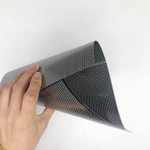 Placa universal flexível do único lado pwb fr4 20*30cm 0.4mm com placa de papel da cópia da matriz do protótipo do passo da placa 0.1mm 2.54mm