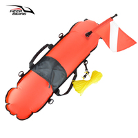 Waterproof Scuba Diving Buoy Float + Dive Kayak Boat Signal Flag+ Weight Belt Safety Gear Equipment for Water Sports