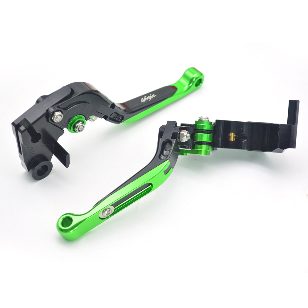 Motorcycle Accessories Parts Adjustable Folding Extendable Brake Clutch Levers For Kawasaki Ninja ZX6R ZX 6R 636 2007 - 2016