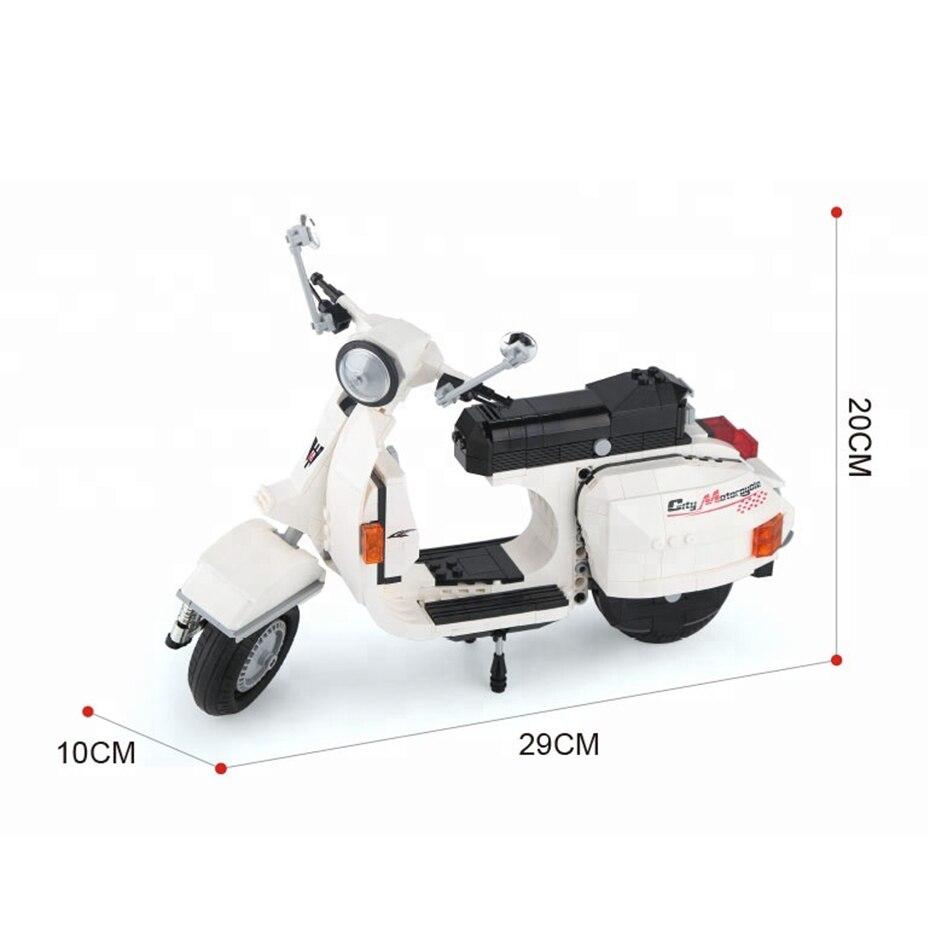 732pcs-white-color-scooter-model-plastic-diy (2)