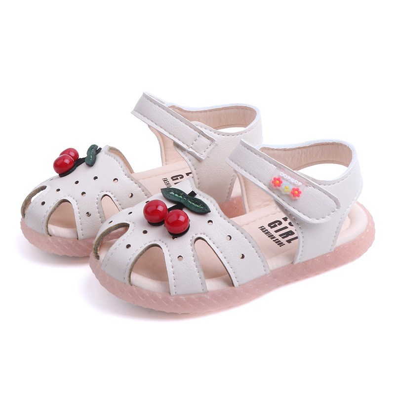 Infant Shoes Girl Baby-Boy Princess New Summer Unisex with Cherry Casual Toddler Sandals