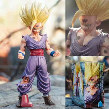 25 cm Anime Dragon Ball Z Action Figure Super Saiyan Son Gohan Figuarts Dragonball Figurine Da Collezione Model Toy