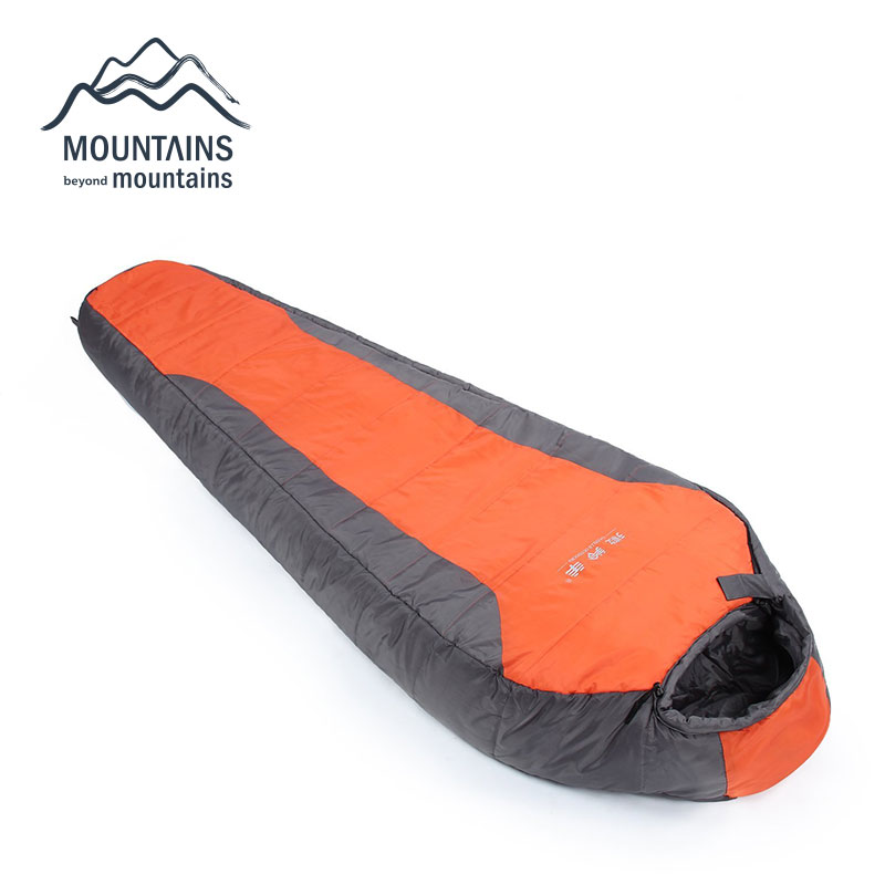 Portable Multifuntional Ultralight Mini Polyester Mummy Shape Outdoor Camping Travel Hiking -5 Degree Cotton Sleeping Bag nature portable multifuntional ultralight mini duck down mummy shape outdoor camping travel hiking sleeping bag 1100g 2 colors