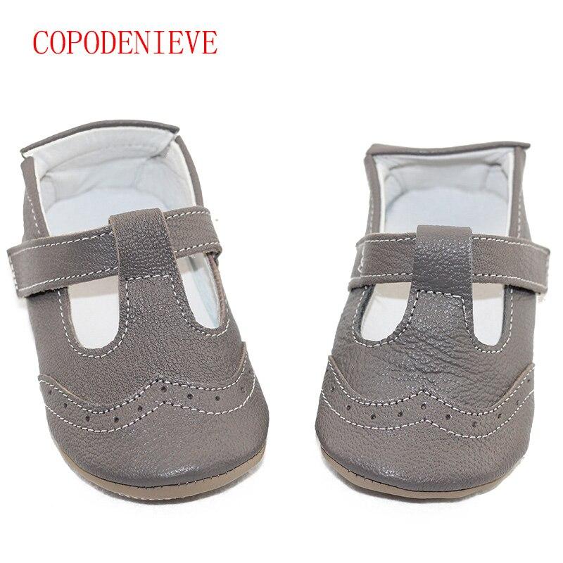 COPODENIEVE Primavera e Verão estilos venda quente 100% Garantido macio solado Genuine bebê sapatos de Couro/sapatos de bebê