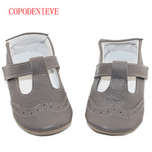 COPODENIEVE Spring and Summer hot sell styles Guaranteed 100% soft soled Genuine Leather baby shoes /