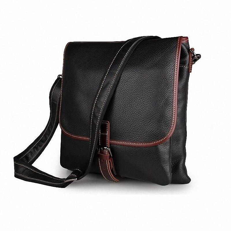 Business Li Echtem black Für Männer Umhängetasche Marke tasche Mode Coffee Qualität Hohe 100 Taschen Leder Kostenloser Versand Der Bags 918 Messenger ITq1wOB1