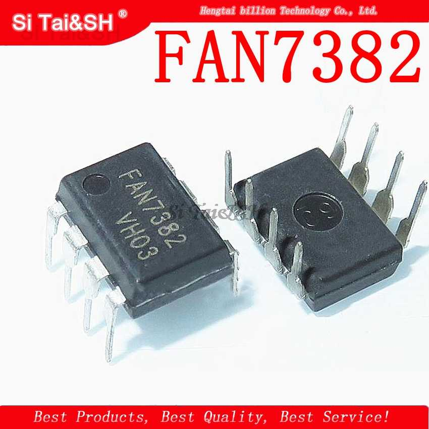 5 ชิ้น/ล็อต FAN7382 Gate Driver สำหรับ MOSFET IGBT,600 V สูงด้านข้าง