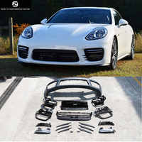PP Turbo style car front bumper Car body kit for Porsche panamera turbo 2014-2016